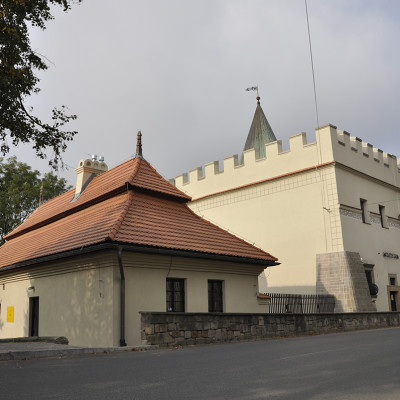 The house with the turret